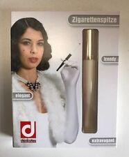 Denicotea Zigarettenspitze Lady elfenbein beige Auswurf Automatic 203+ Filter