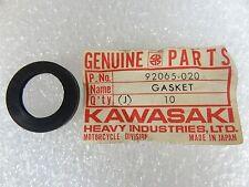 Kawasaki NOS NEW  92065-020 Oil Tank Cap Gasket S2 C2 F3 F4 G3 C2SS C2TR 1967-74