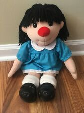 Big Comfy Couch Molly Clown Girl Plush Doll 1996