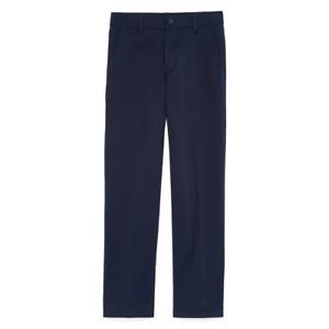 NWT IZOD Boys Uniform Navy Dress Chino Pants Flat Front Adjustable 16 Slim
