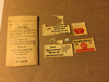 Walthers Misc Reefer Decals  HO Scale