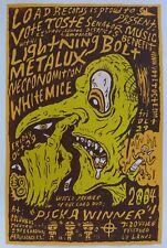 Poster Serigraphie Screenprint Brinkmann ( Providence Fort Thunder )