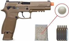 Sig Sauer ProForce M17 Airsoft Pistol with included 5x12 gram CO2 Tanks Bundle