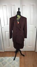 Rena Rowan suit Sz skirt 10P jacket Sz 12P Vintage