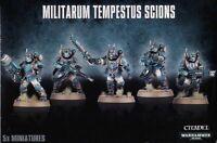 Warhammer 40K Militarum Tempestus Scions / Scion Command Squad Astra Imperial IG
