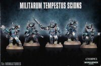 Scions Militarum Tempestus Warhammer 40K also builds Command Squad 5 Astra Kill