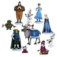 Frozen Adventure Deluxe Figure Play Set 10 Pieces Anna Elsa Olaf Kristoff Sven