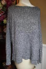 VINCE Women's gray cotton sweater size large (sw600