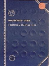 ROOSEVELT DIMES  #9029 (1946-1978) VINTAGE WHITMAN COIN FOLDER - USED  # 105