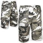 militare US stile MP3 COMBATTIMENTO BDU Shorts Mimetico Battle abito