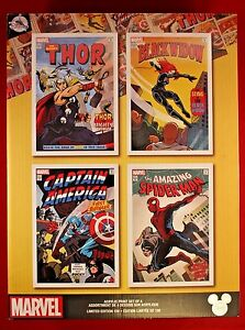 D23 Expo Disney Exclusive Marvel 4 Acrylic Art Work Limited Edition 100 Thor '17