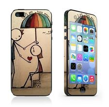 Love Color Full Body Screen Protector Cover Film Skin for iPhone 5 5S