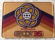 Disney Parks Epcot 35th Anniversary Acrylic Magnet