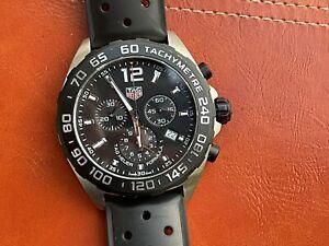 TAG Heuer Formula 1 Men's Black Watch - CAZ1010.FT8024 EXCELLENT CONDITION