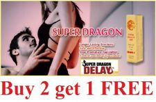 Super Dragon 6000 men Delay Spray Longer Sex Ejaculation NEW Formula  *Genuine**