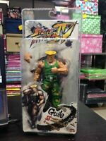 Capcom Street Fighter IV Guile Action Figures Featuring Super Poseable Body