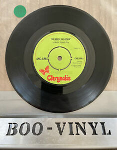 """Sno-Ball ft. Bobby Caldwell """"The House Is Rockin"""" 7"""" 1976 Northern Soul EX CON"""