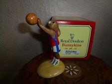 "Royal Doulton Bunnykins ""Baloncesto Bunnykins"" DB208"
