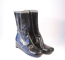 Miu Miu Black Leather Boots - Size 36 (US 6)