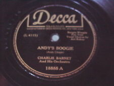 Charlie Barnet: Andy's Boogie / Baby, You Can Count 78