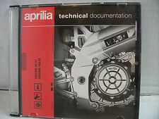 APRILIA ATLANTIC SCARABEO SPORTS TECHINCAL DOCUMENTATION WORKSHOP MANUAL SPARES