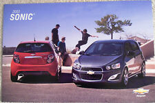 NEW GM DEALERSHIP 2013 CHEVROLET SONIC AUTO POSTER OR VEHICLE PORTRAIT PICTURE