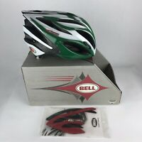 Brand New Bell Ghisallo Helmet Size L Large Green and White Road Bike Cycling