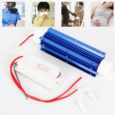 Portable Air Purifier Pump Water Disinfection Ozone Generator Quartz Tube 10g/H