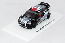 CITROEN DS3 WRC #8 8th SWEDEN RALLY 2011 N°S3302 1/43 SPARK