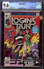 Logan's Run # 6 CGC 9.6 OW/White (Marvel, 1977) 1st solo Thanos story