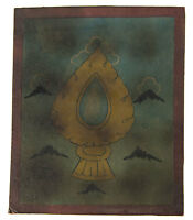 Tsakli -espejo Adarsha Artisticos Initiation Wandthangka Tibetana Mongolia 4984