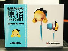 Auricolari MONSTER in ear headphones HARAJUKU LOVERS