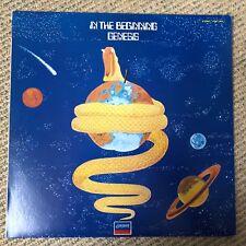 Genesis - In The Beginning - Scarce 1982 Japanese vinyl LP w/ insert NO OBI