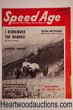 Speed Age Aug 1951