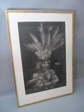 """Lithografie """"Tortuga"""" Blatt 87 /120 Originalsignatur Mauricio Stefanowsky"""