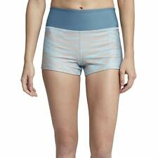"Hurley Women's Surf Palmer Compression 2"" Board Swim Shorts Ocean Bliss S"