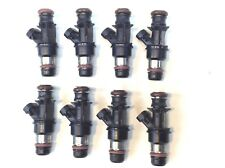 SET OF 8 DELPHI 4 HOLE FUEL INJECTOR UPGRADE 1999-2007 CHEVY GMC 4.8-5.3-6.0 V8