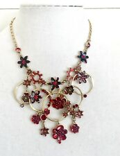 Pilgrim Genuine Swarovski Crystal And Enamel Necklace. NWT Price $24 Retail $100