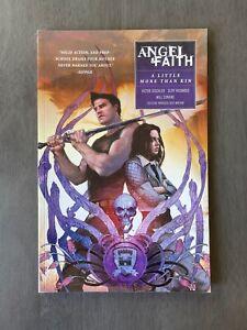 NEW! Angel and Faith - Volume 4: Little More Than Kin - Dark Horse Rare OOP TPB
