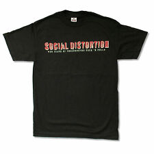 SOCIAL DISTORTION -  30 YRS OF UNDERGROUND 2009 TOUR BLK T-SHIRT NEW OFFICIAL M