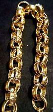 CUSTOM MADE HANDMADE 9CT GOLD MENS BELCHER BRACELET,HALLMARKED,BRAND NEW