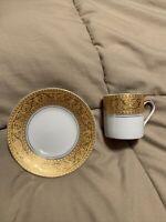 GNA Porcelain Demitasse Espresso Set Gold