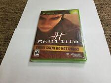 Still Life (Microsoft Xbox, 2005) new