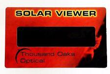 Visor de Eclipse Solar (Paquete de 10) certificada por CE e ISO Observación