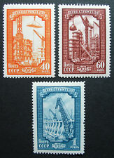Russia 1956 #1855-1857 MNH OG Russian Soviet Construction Day Set $34.00!!