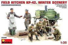Miniart 35098 1/35 Field Kitchen KP-42 Winter Scenery