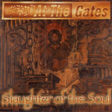 At The Gates - Slaughter of the Soul LP - Black/Green Colored Vinyl Album Record