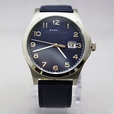 New Marc Jacobs MJ8670 Jimmy Silver Dial and Blue Band Women Watch