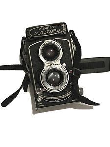 minolta autocord camera rokkor 1:3.5 75mm F 3.5