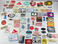 Lot of 160 Coal Mining Company Suppliers Coal Machines Related Decal Stickers